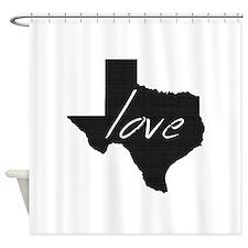 Love Texas Shower Curtain