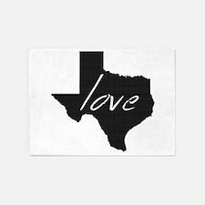 Love Texas 5'x7'Area Rug