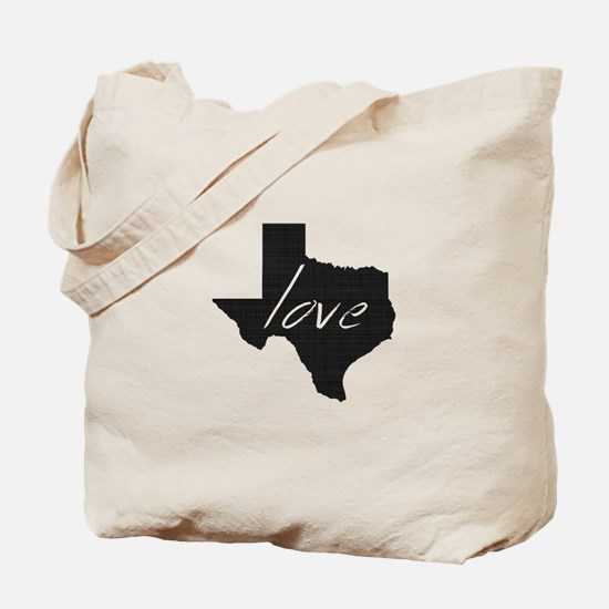 Love Texas Tote Bag