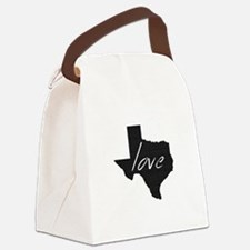 Love Texas Canvas Lunch Bag
