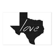 Love Texas Postcards (Package of 8)