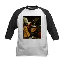 Saint Cecilia and the Angel by Sar Baseball Jersey