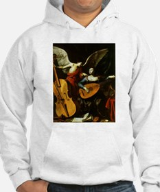 Saint Cecilia and the Angel by S Hoodie