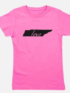 Love Tennessee Girl's Tee