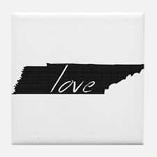 Love Tennessee Tile Coaster
