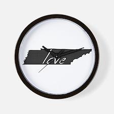 Love Tennessee Wall Clock