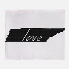Love Tennessee Throw Blanket