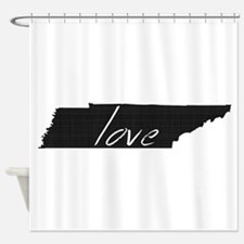 Love Tennessee Shower Curtain