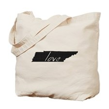 Love Tennessee Tote Bag