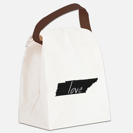 Love Tennessee Canvas Lunch Bag