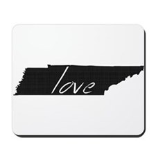 Love Tennessee Mousepad