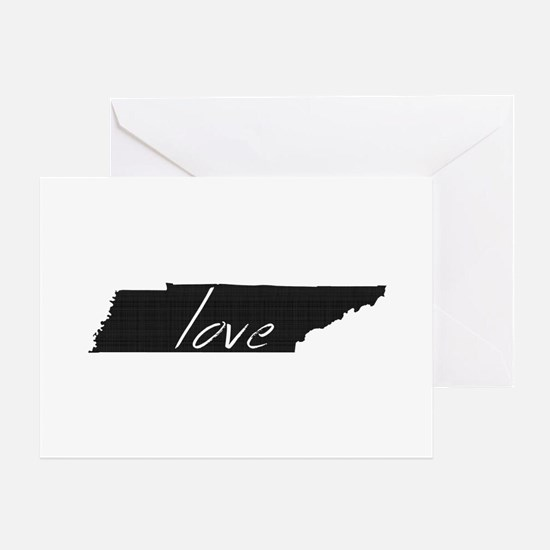 Love Tennessee Greeting Card