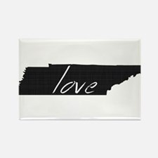 Love Tennessee Rectangle Magnet