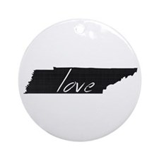 Love Tennessee Ornament (Round)