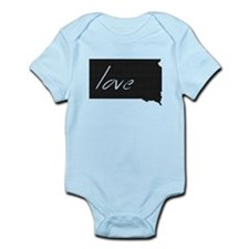 South Dakota Infant Bodysuit