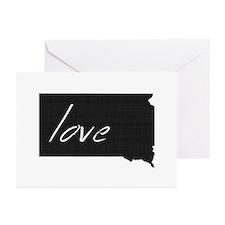 South Dakota Greeting Cards (Pk of 20)