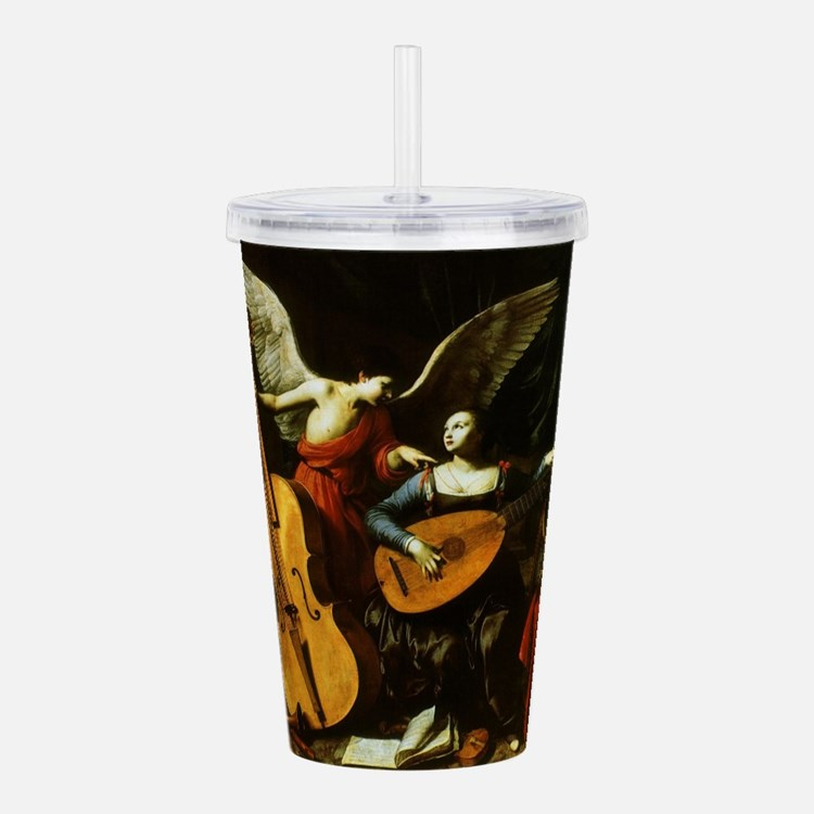 Saint Cecilia and the Acrylic Double-wall Tumbler