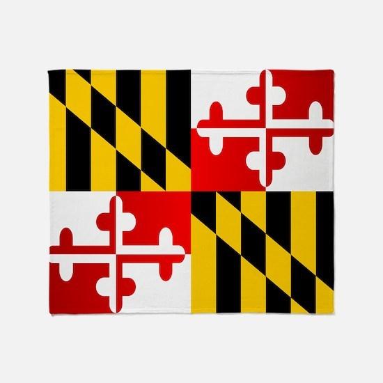Maryland (F15)b Throw Blanket