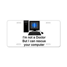 doctor copy.png Aluminum License Plate