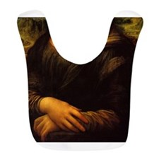 Mona Lisa Halloween Costume Bib