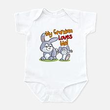 My Grandma Loves Me Bunny Infant Bodysuit