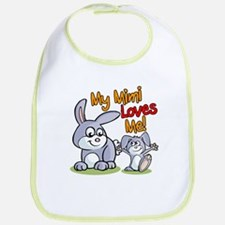 My Mimi Loves Me Bunny Bib