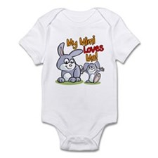 My Mimi Loves Me Bunny Infant Bodysuit