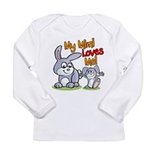 My Mimi Loves Me Bunny Long Sleeve Infant T-Shirt
