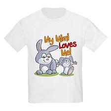 My Mimi Loves Me Bunny T-Shirt