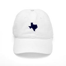 Navy Blue Texas Outline Baseball Cap