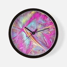 Color abstract Wall Clock