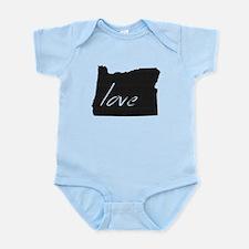Love Oregon Infant Bodysuit