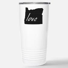 Love Oregon Travel Mug