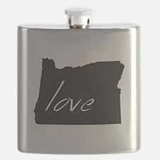 Love Oregon Flask