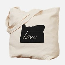 Love Oregon Tote Bag