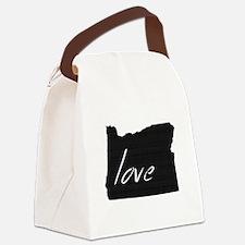 Love Oregon Canvas Lunch Bag