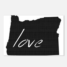 Love Oregon Postcards (Package of 8)