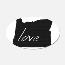 Love Oregon Wall Decal