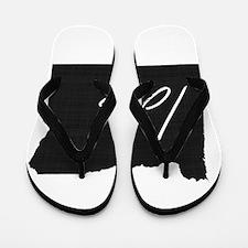 Love Oregon Flip Flops
