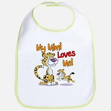 My Mimi Loves Me Leopard Bib