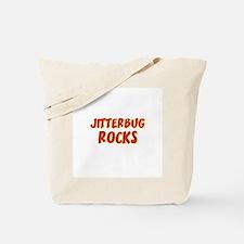 Jitterbug Rocks Tote Bag