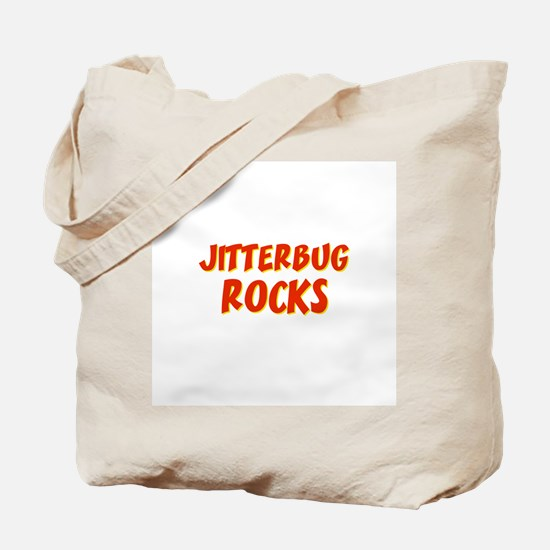 Jitterbug Rocks Tote Bag