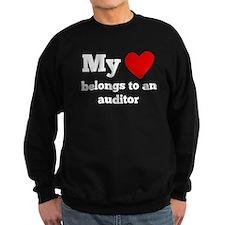 My Heart Belongs To An Auditor Sweatshirt