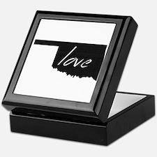 Love Oklahoma Keepsake Box