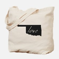 Love Oklahoma Tote Bag