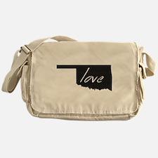 Love Oklahoma Messenger Bag