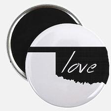 "Love Oklahoma 2.25"" Magnet (100 pack)"