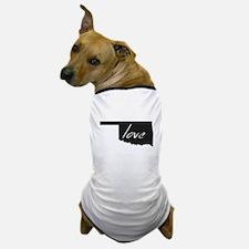 Love Oklahoma Dog T-Shirt