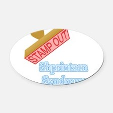 Sleep Apnea Oval Car Magnet