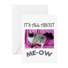 All About ME-OW Ragdoll Greeting Cards (Pk of 20)